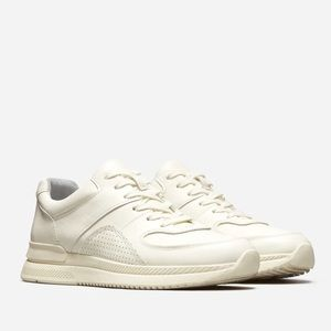 Everlane The Trainer Sneaker in Off-White Size 9